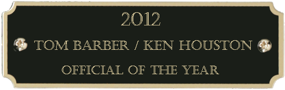 2012 Official of the Year