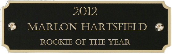 2012 Rookie of the Year