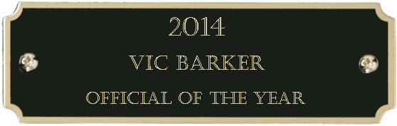 2014 Official of the Year