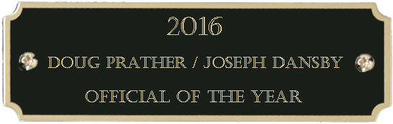 2016 Official of the Year