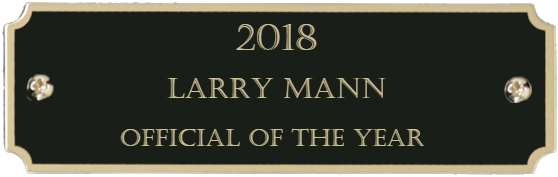 2018 Official of the Year